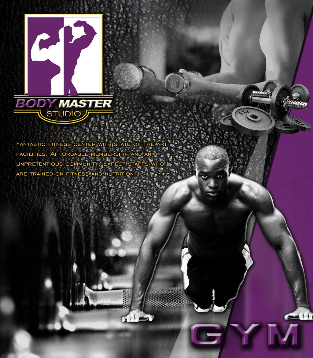 Go On And Keep Your Body In Shape In Body Master Gym Penang Fantastic Fitness Center With State Of The Art Facilities Ad De Fitness Center Ad Design Fitness