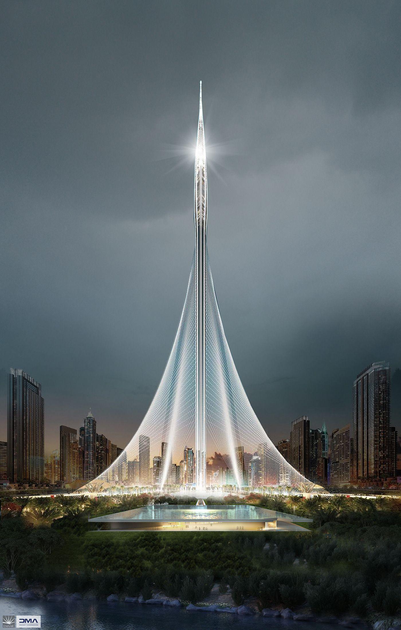 Dubai Creek Harbour Mosque Dubai Architecture Dubai Buildings Futuristic Architecture