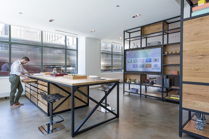 Office tour kimball s chicago showroom design - Commercial interior design chicago ...
