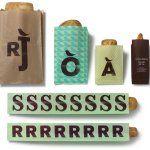 字母系列包裝設計