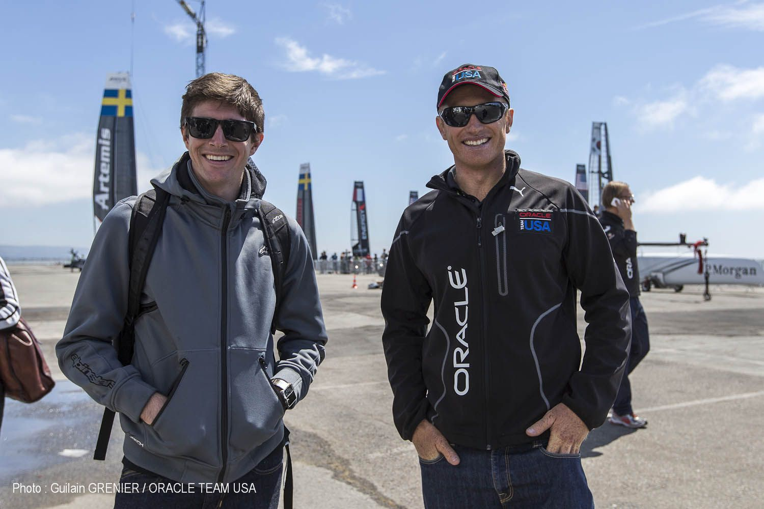 Indy Car Driver, JR Hildebrand, joined ORACLE TEAM USA on ... |Team America Driving