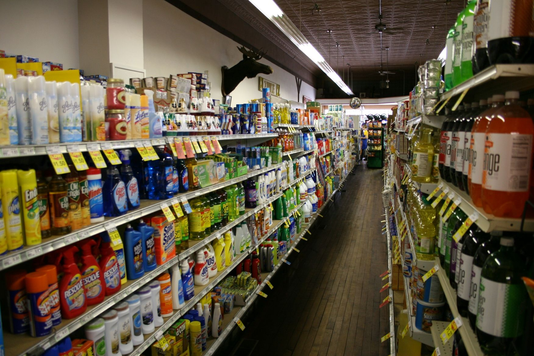 Aisle Store Grocery Shopping