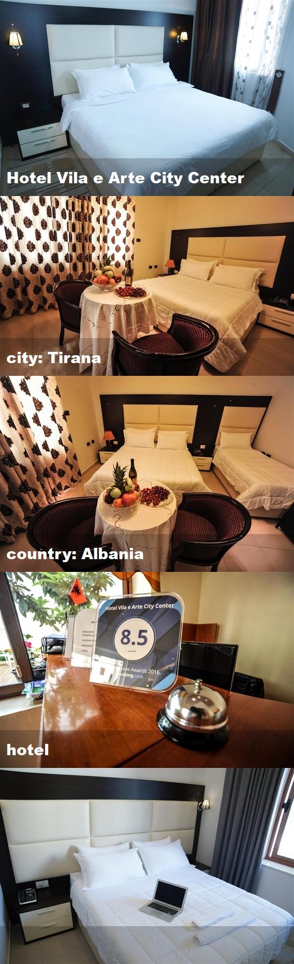 Hotel Vila E Arte City Center City Tirana Country Albania Hotel Tirana Hotel Albania