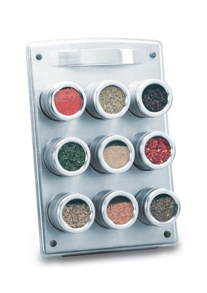 Kamenstein Magnetic Spice Rack - $40 | Products/Style | Pinterest ...
