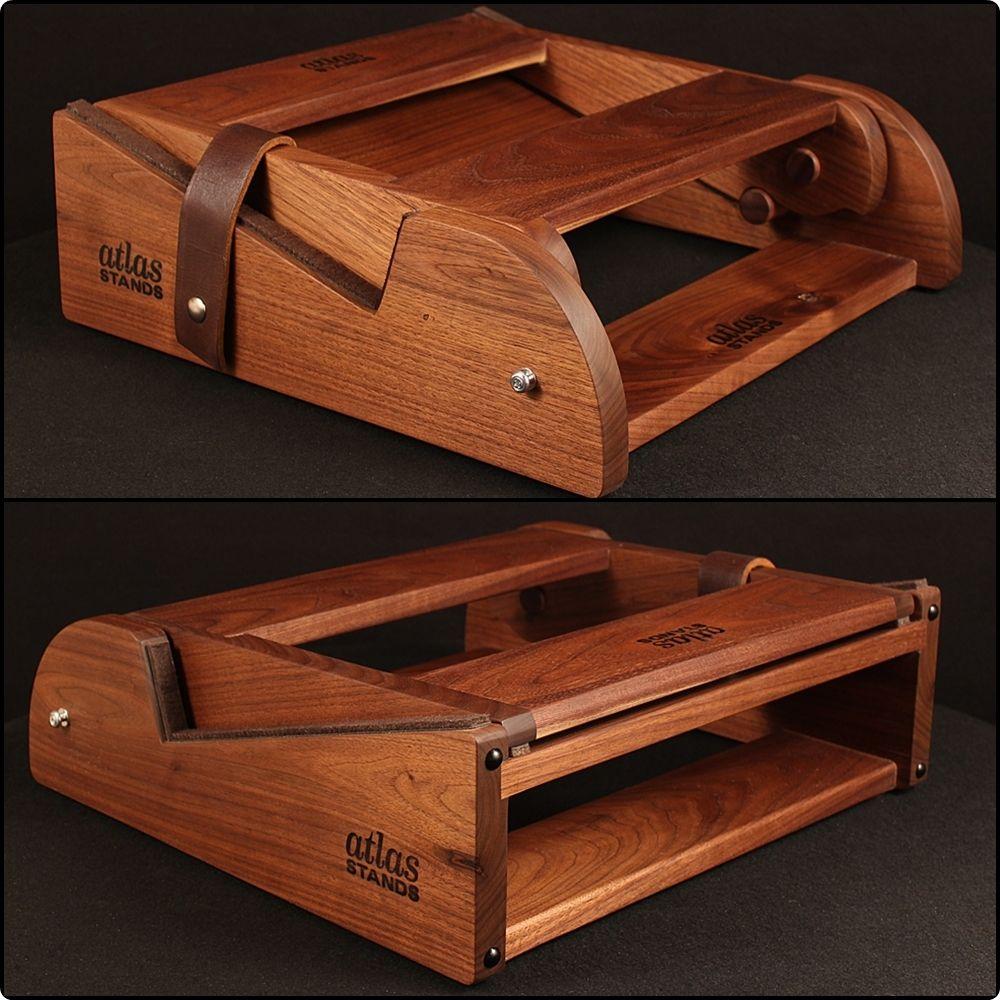 25 Diy Bunk Beds With Plans: Walnut Micro Atlas Guitar Amp Stand
