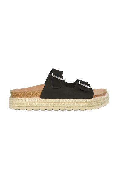 d7ba6f310756 Darrol black nubuck sandal from Shoe Biz Shoe Biz Copenhagen - Shoes ...