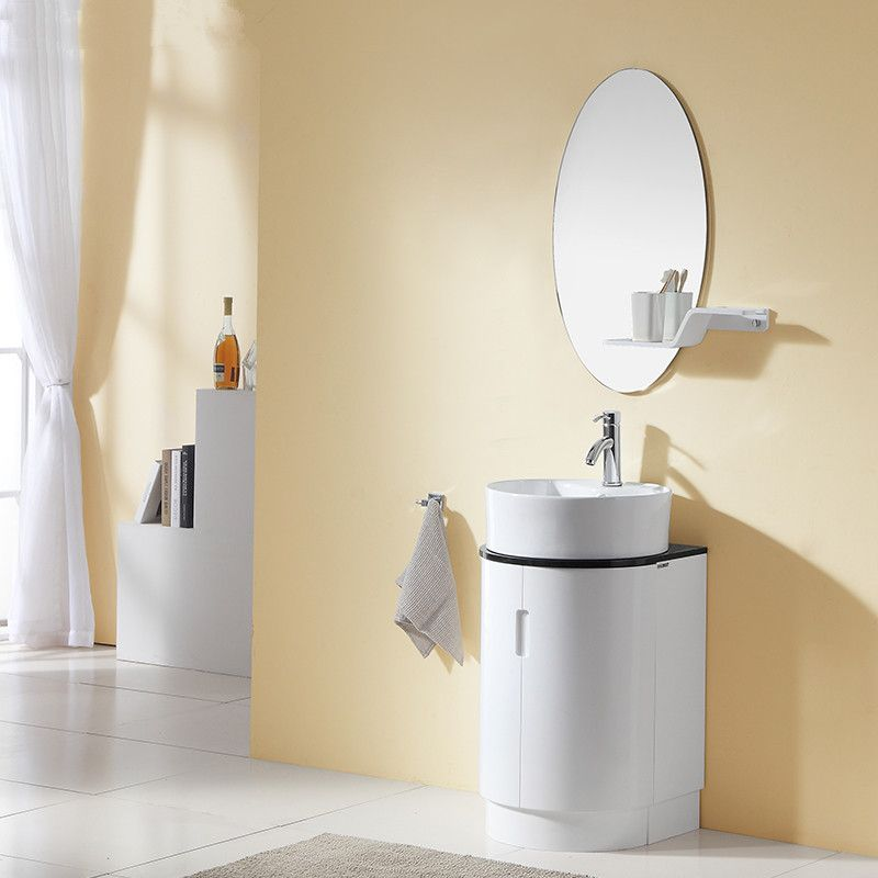 Round Bathroom Vanity Home Decoration Interior Design
