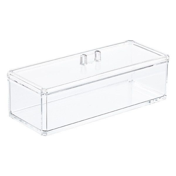 Stackable Boxes Home Decor Acrylic Edge Stackable Boxes 25 Brl ❤ Liked On Polyvore
