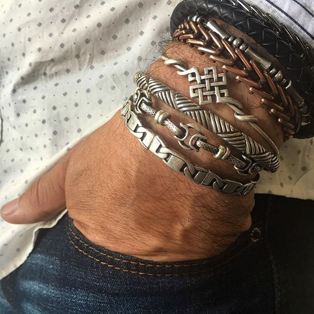 Alex And Ani Men Collection Gypsy 66 Wrap Endless Knot