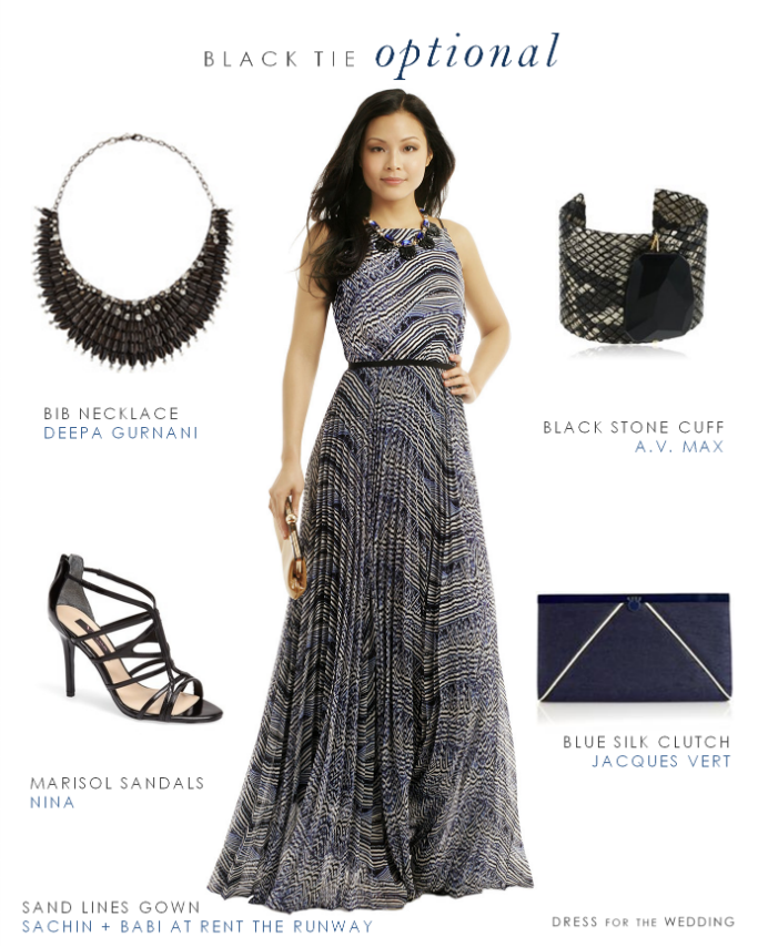 Black Tie Optional Wedding Attire | Wedding Guest Dresses ...