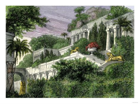 Hanging Gardens Of Babylon 7 Ancient Wonders The World