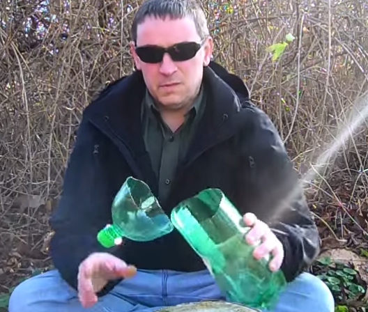 Ловушки для птиц из бутылок