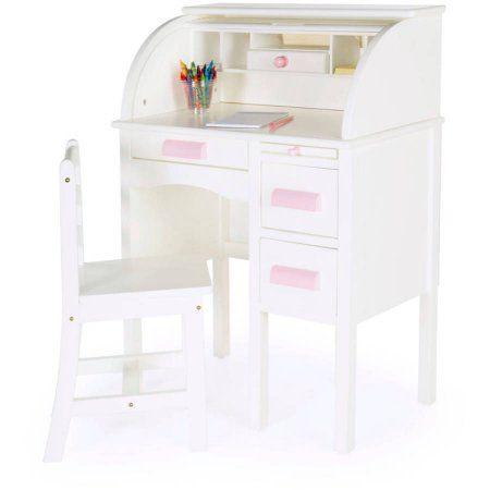 Guidecraft JR Roll-Top Desk, White Products Pinterest Kids