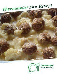 Photo of Potato cauliflower casserole with meatballs