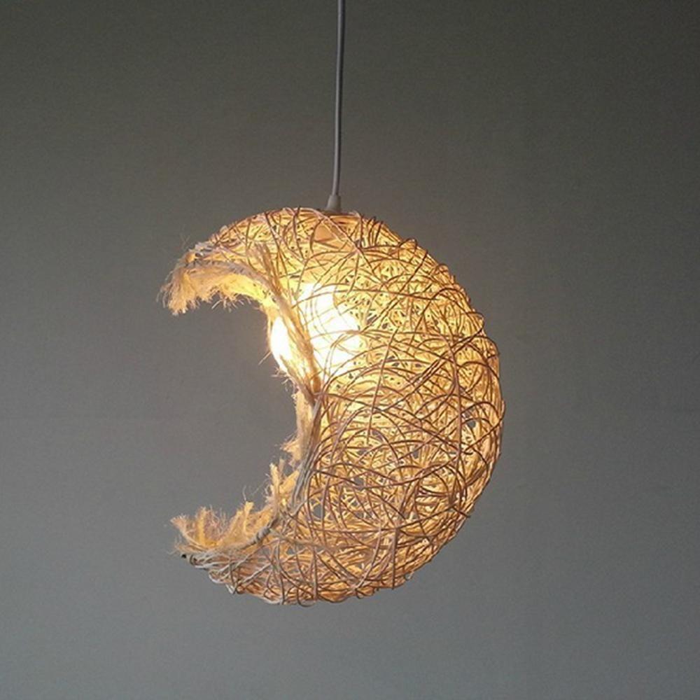 Moon lighting home decoration rustic pendant lamp | Pendant lamps ... for Moon Lamp Hanging  587fsj
