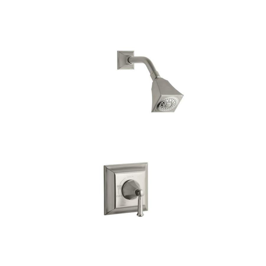 Kohler Memoirs Vibrant Brushed Nickel 1 Handle Shower Faucet Ts462