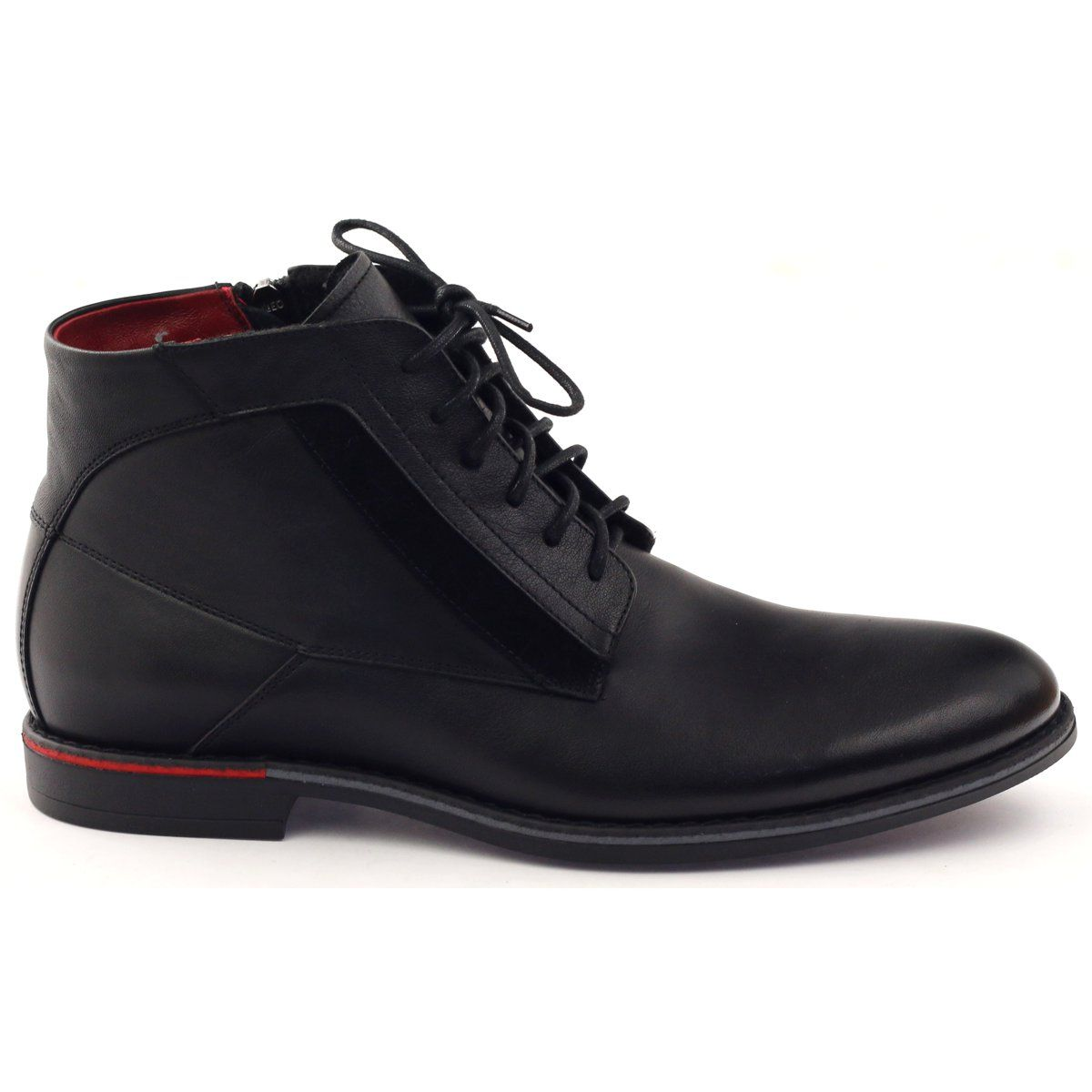 Botki Sztyblety Pilpol Pc6007 Czarne Zapatos Hombre Zapatos Botines Hombre
