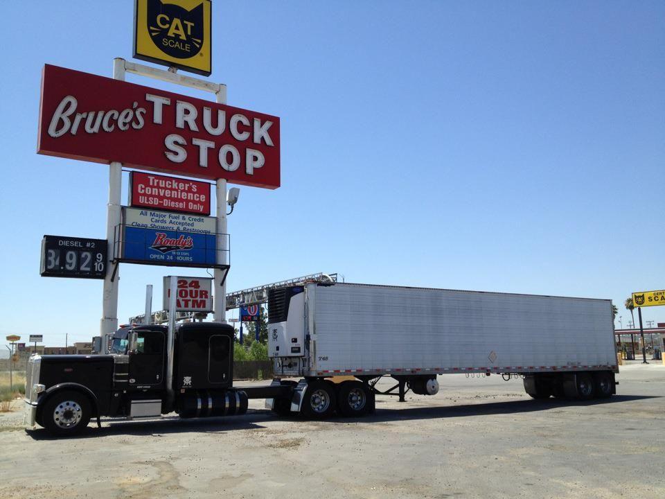 Bakersfield Truckstop Big Trucks Big Rig Trucks Trucks