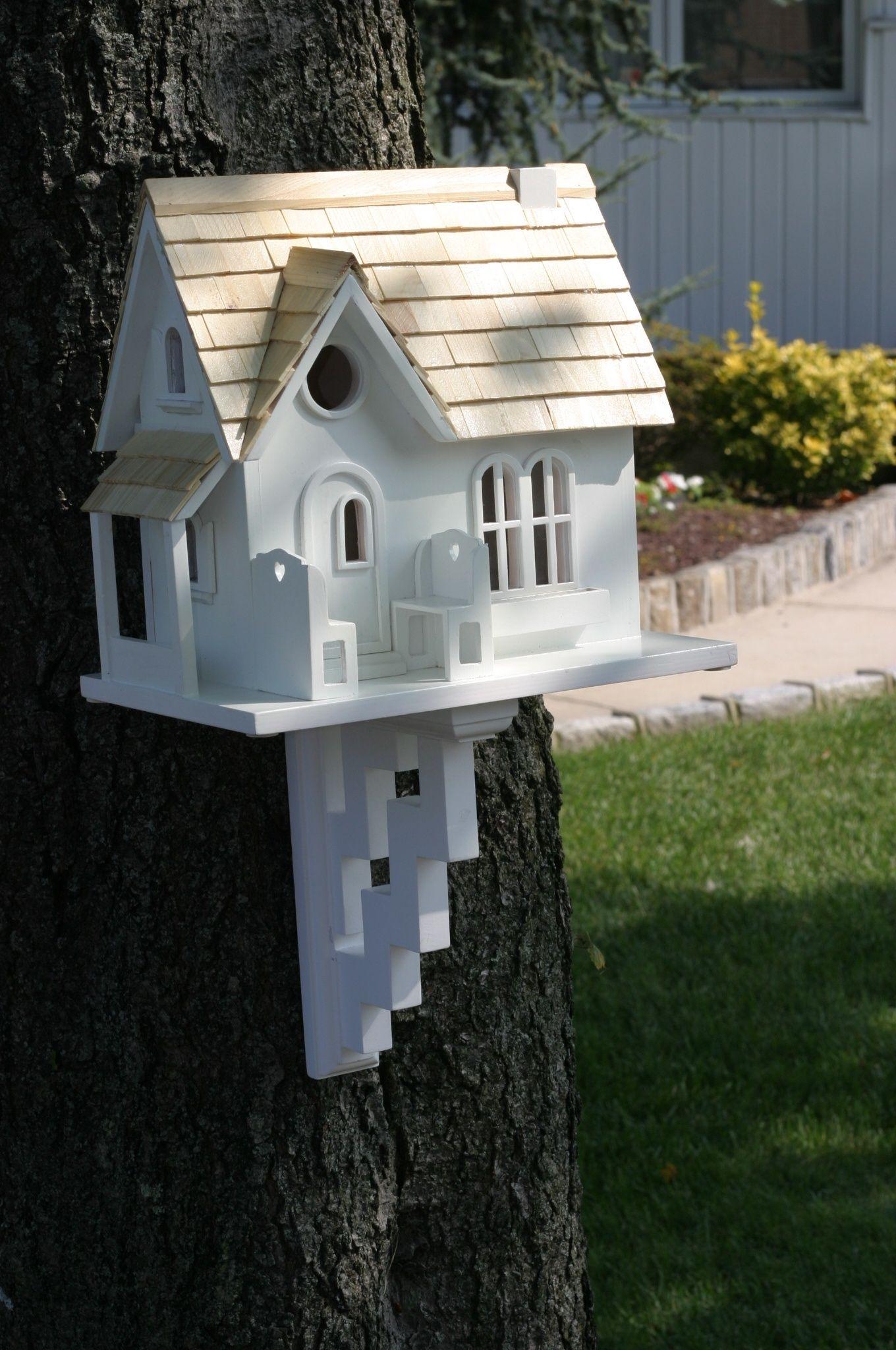 Cottage+Birdhouse | Home Bazaar Cozy Cottage Birdhouse ...