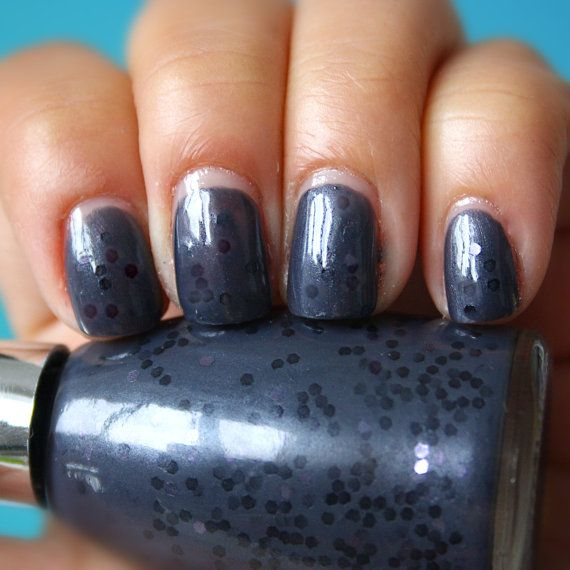 Nail Polish Carbon Fibre