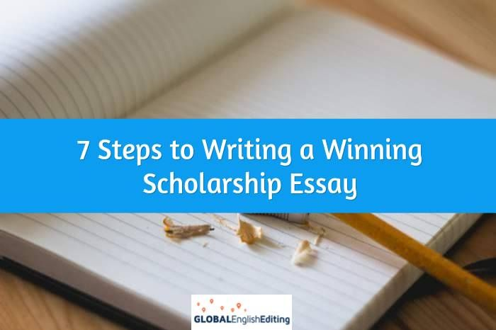 The ultimate, step-by-step guide to writing a winning scholarship