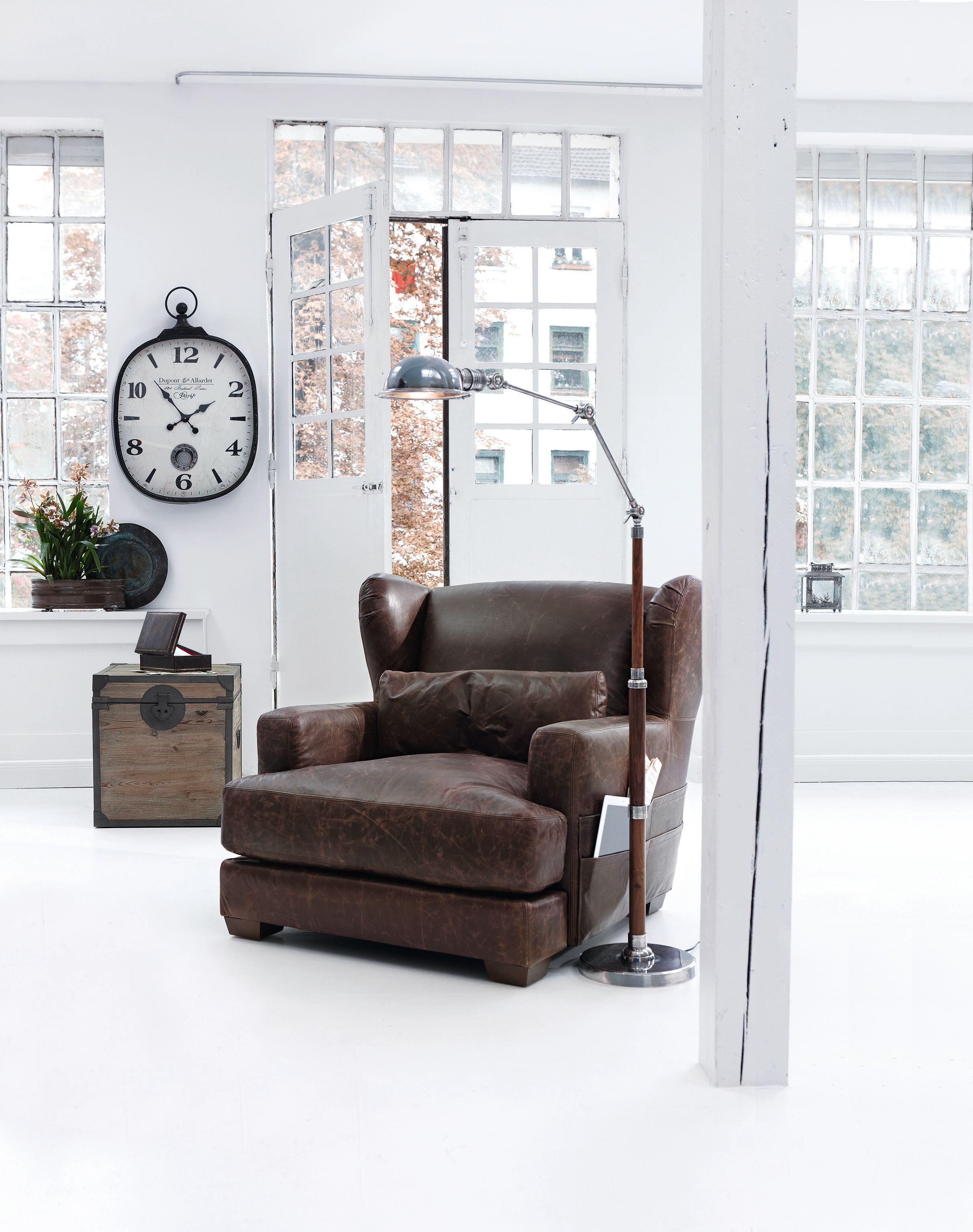 sessel orlando truhe colorado loberon wohnen im industrial stil pinterest industrial. Black Bedroom Furniture Sets. Home Design Ideas