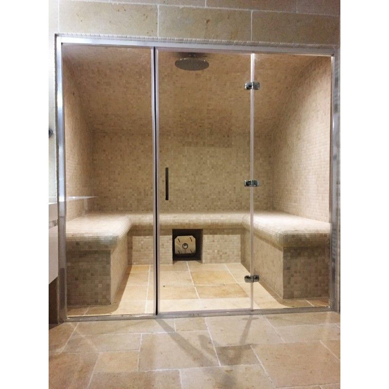 Steam Room Full Glass Front | Contemporary Homes | Pinterest | Steam ...