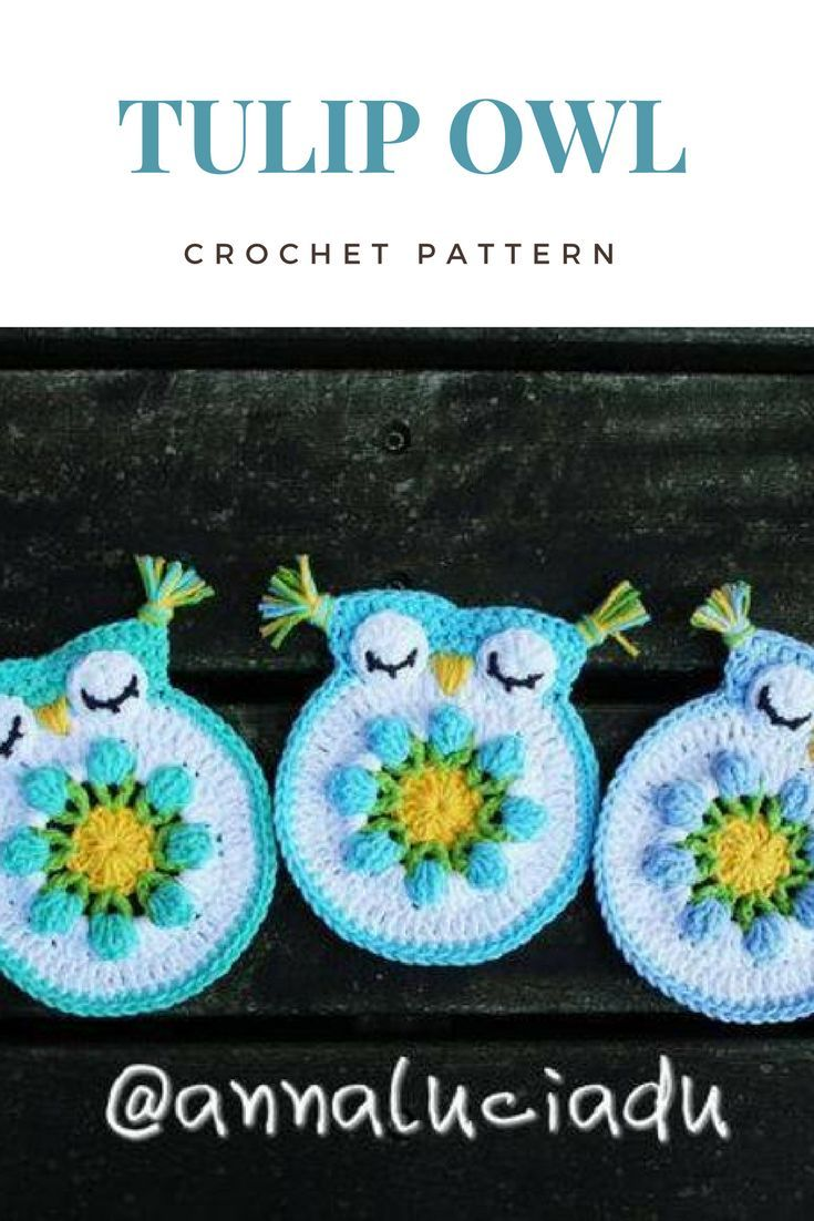 Do You Have An Owl Obsession Check Out This Tulip Owl Crochet