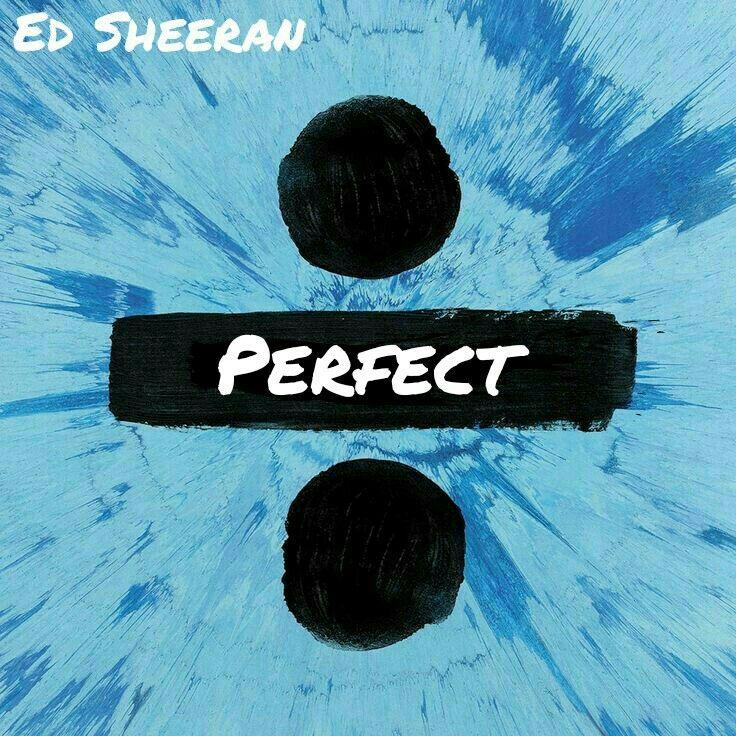 Ed Sheeran Perfect Album Art Cover Divide With Images Divide