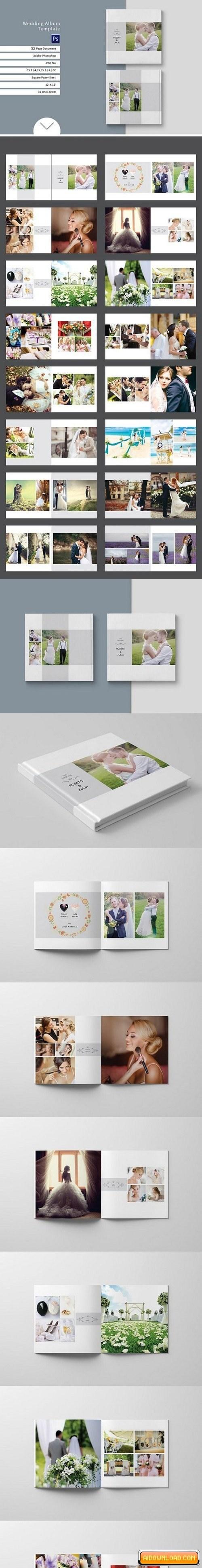 wedding album templates free