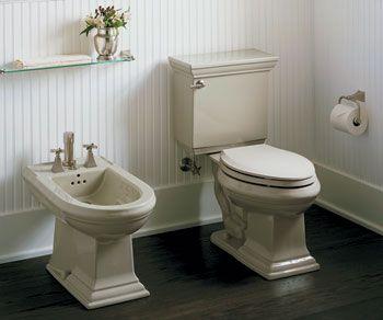 Toilet bidet classic bathroom plumbing angies list - Angie s list bathroom remodeling ...