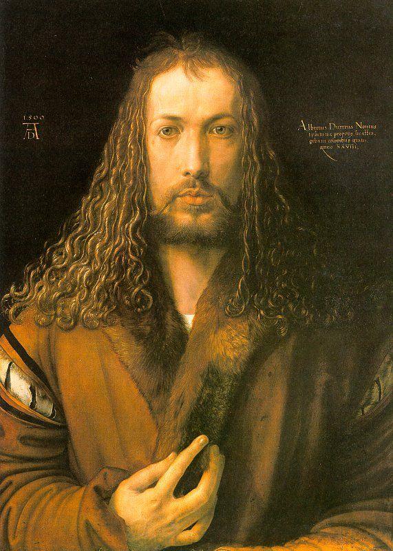 Albrecht Durer - Autorretrato, 1500