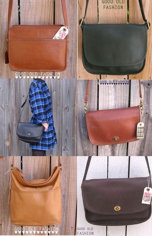 0bfc46a13297 Good Old Fashion Vintage  vintage coach bags