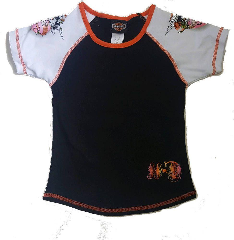 Kids Biker Harley-Davidson Boys Logo T-Shirt  Motorcycle Clothing
