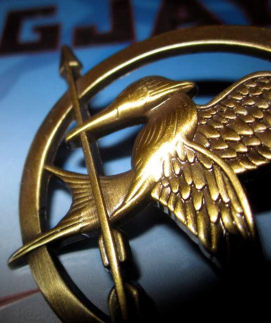 A Hunger Games Mockingjay Pin