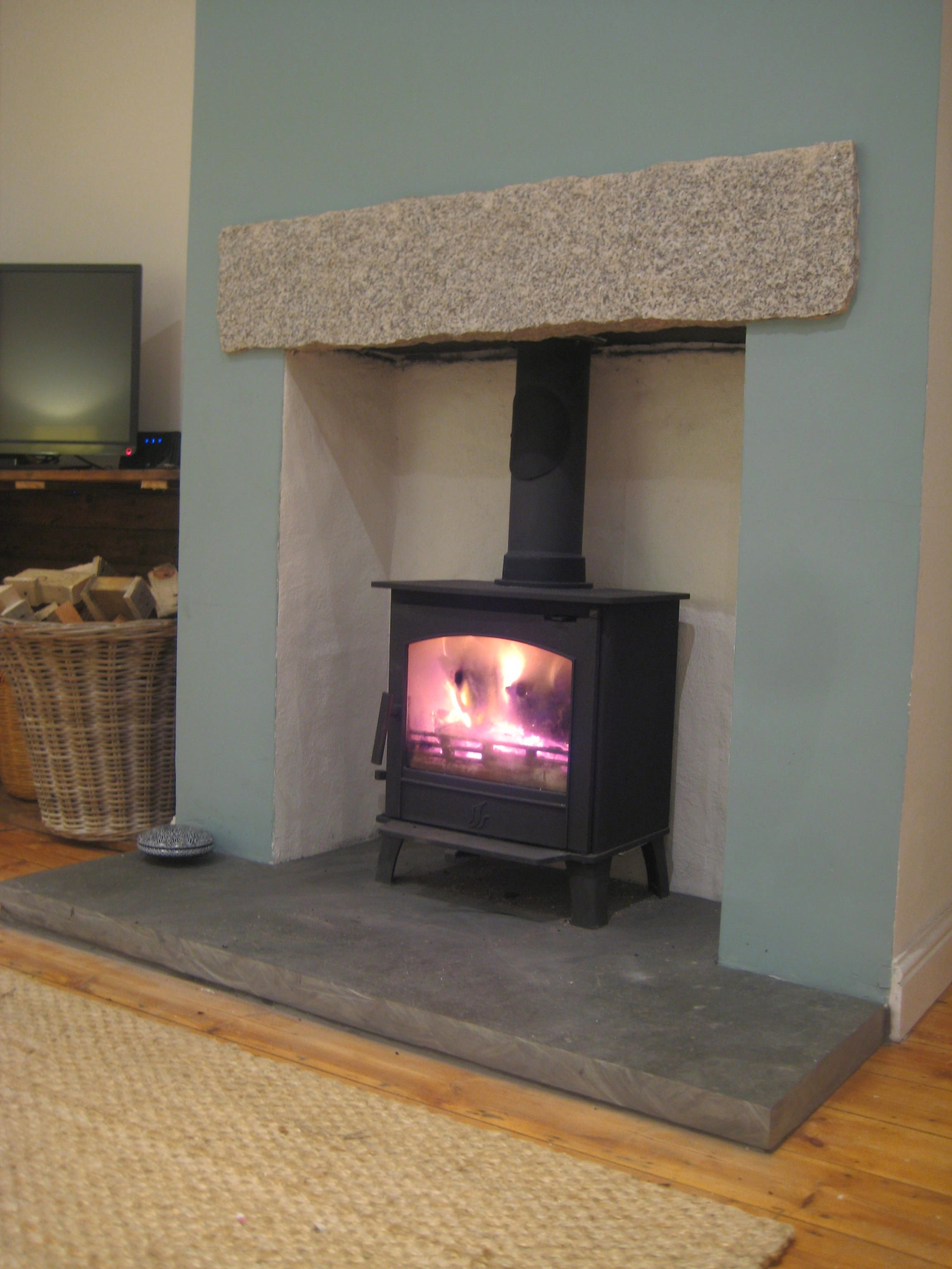 Stove Installation Blazing Burners Wood Burner Installations Slate Hearth Wood Burner Fireplace Slate Fireplace