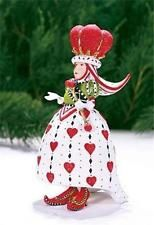 Patience Brewster Krinkles Queen of Hearts Ornament 08-30891