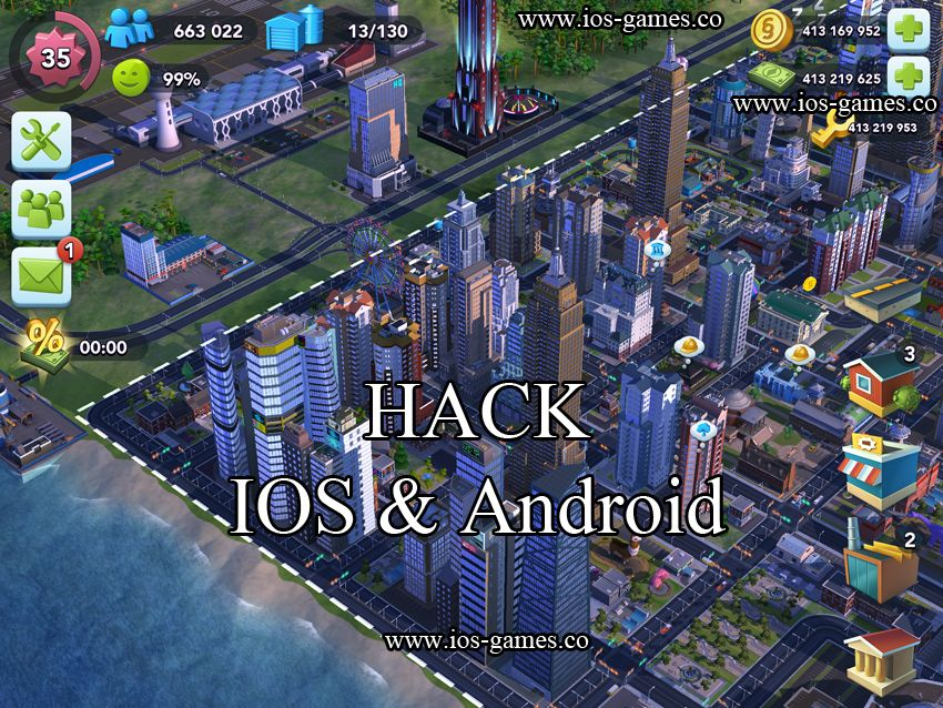 SimCityBuildit Hack SimCity BuildIt without Jailbreak for ios 8 1