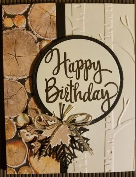 Super Vintage Cards Stampin Up Paper Ideas Birthday Cards For Men Vintage Birthday Cards Masculine Cards