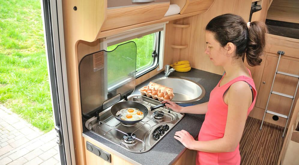 12 Awesome Rv Storage Ideas For Your Tiny Kitchen Rv