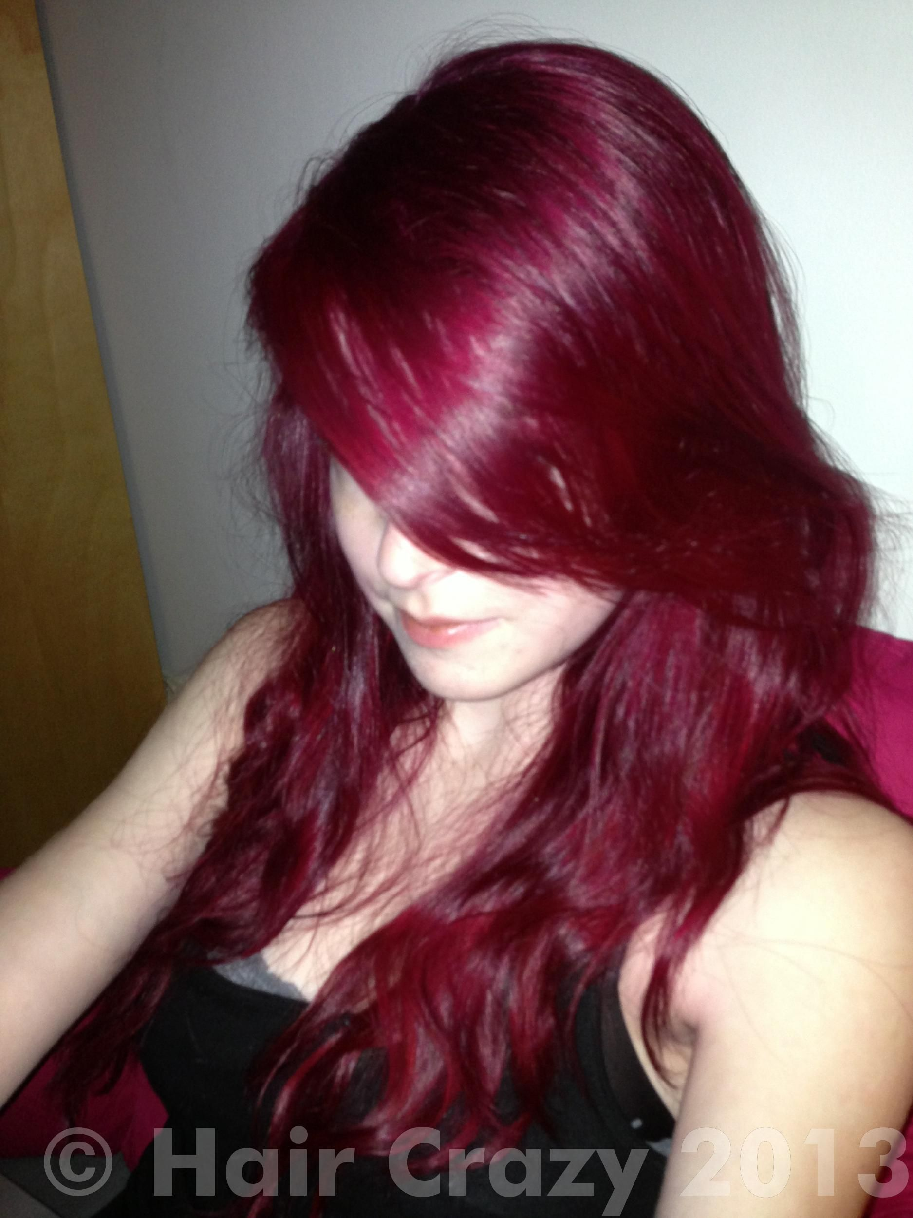 chocolate plum hair color burgundy