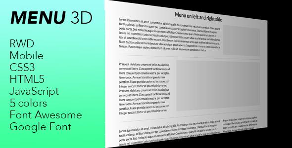 Download Free              Menu 3d - hamburger menu 3d            #               3d #css3 #hamburger menu #html5 #javascript #menu #menu 3d #menu3d #mobile menu