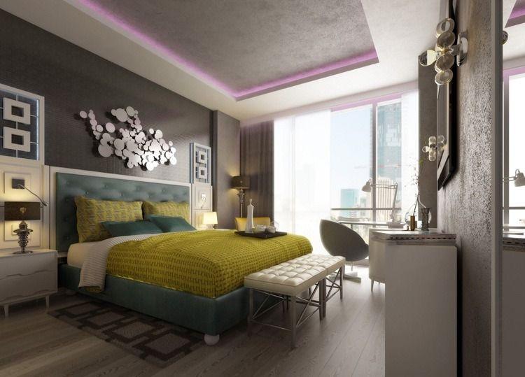 Chambre de luxe et lumière tamisée en 15 photos cool ! | Cozy and ...