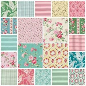 Rosewater 21 Fat Quarter Set by Verna Mosquera for Free Spirit