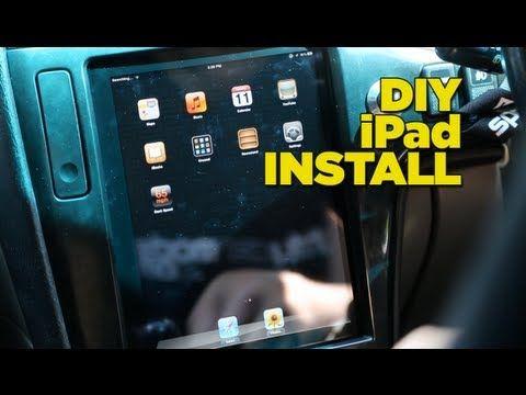 Ipad Dash Install Diy Car Audio Custom Ipad Installation