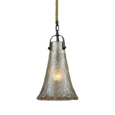 Bungalow Rose Onghoue 1 Light Mini Pendant Bulb Type: