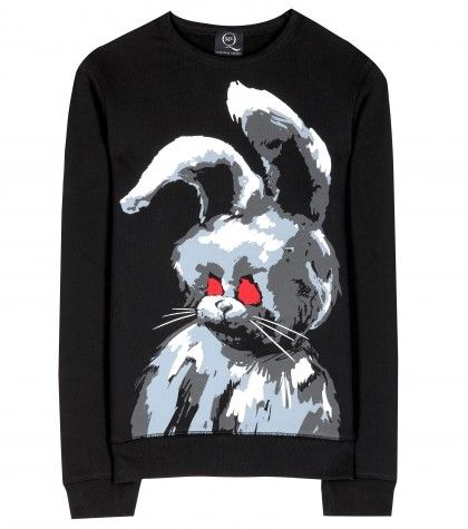 McQ Alexander McQueen - Angry Bunny jersey sweatshirt  - mytheresa.com GmbH