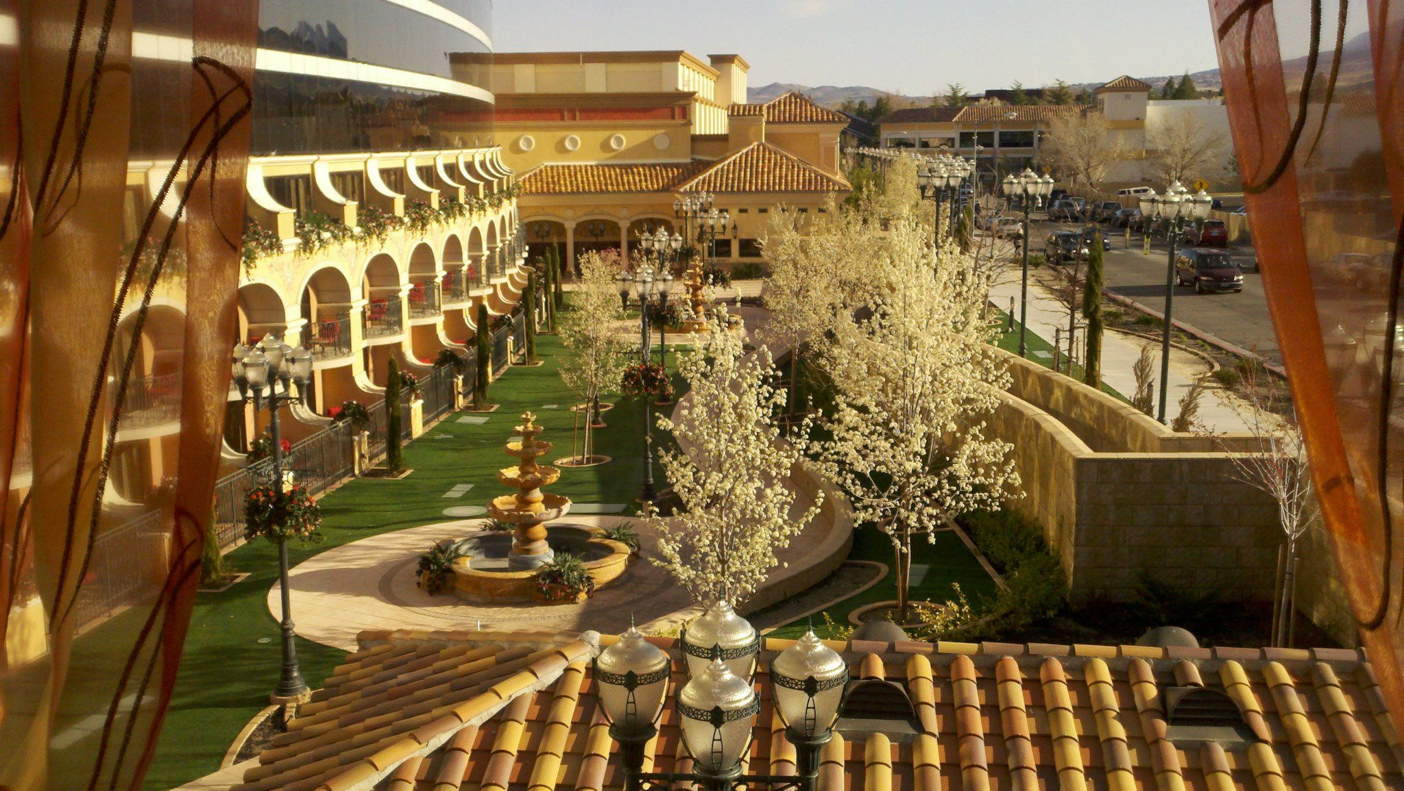 This is The Tuscany Gardens at the Peppermill Casino Resort in Reno ...