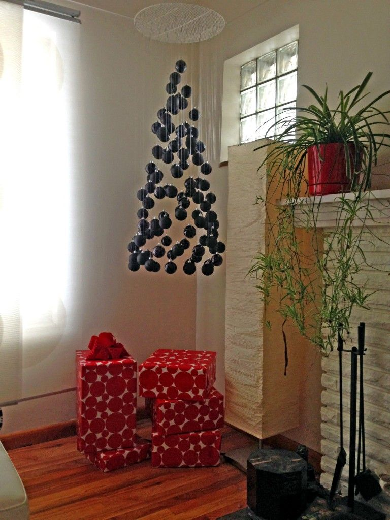 Floating Christmas Tree Mobile