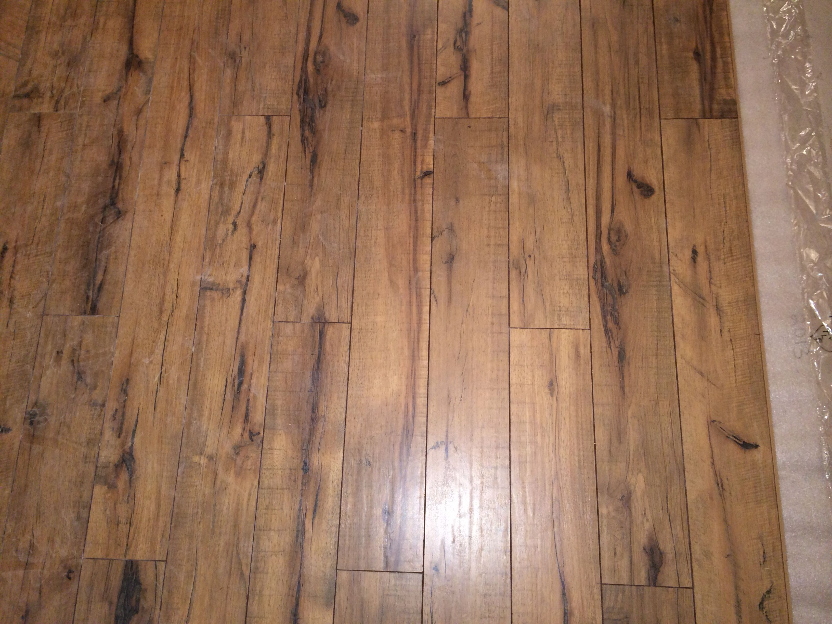 Antique Hickory Laminate Floors From Lowes Flooring